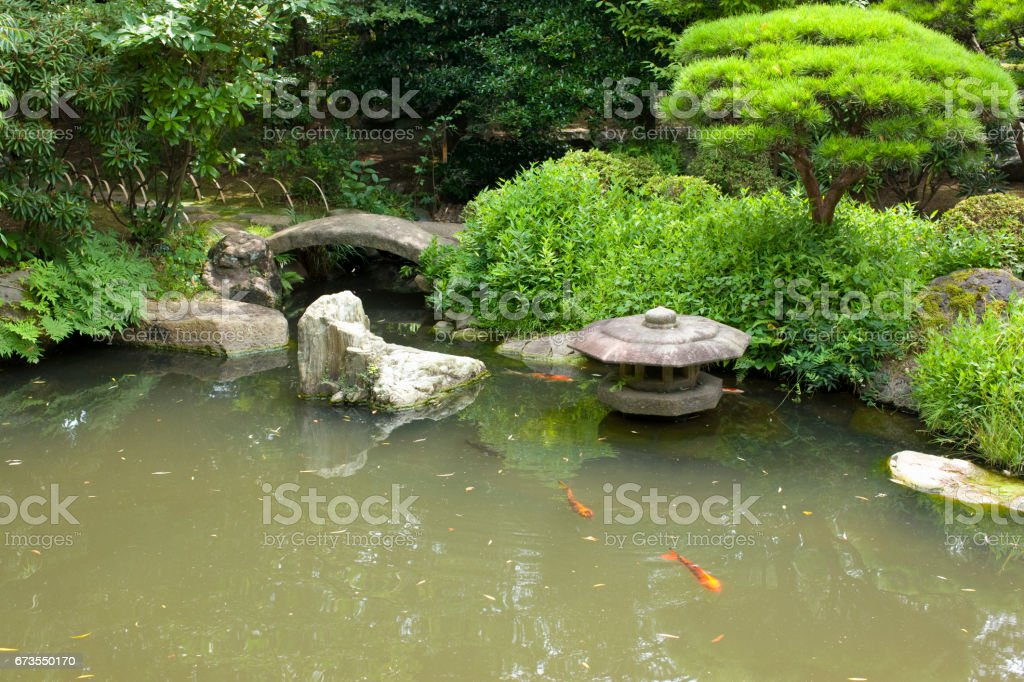 Japan garden royalty-free stock photo