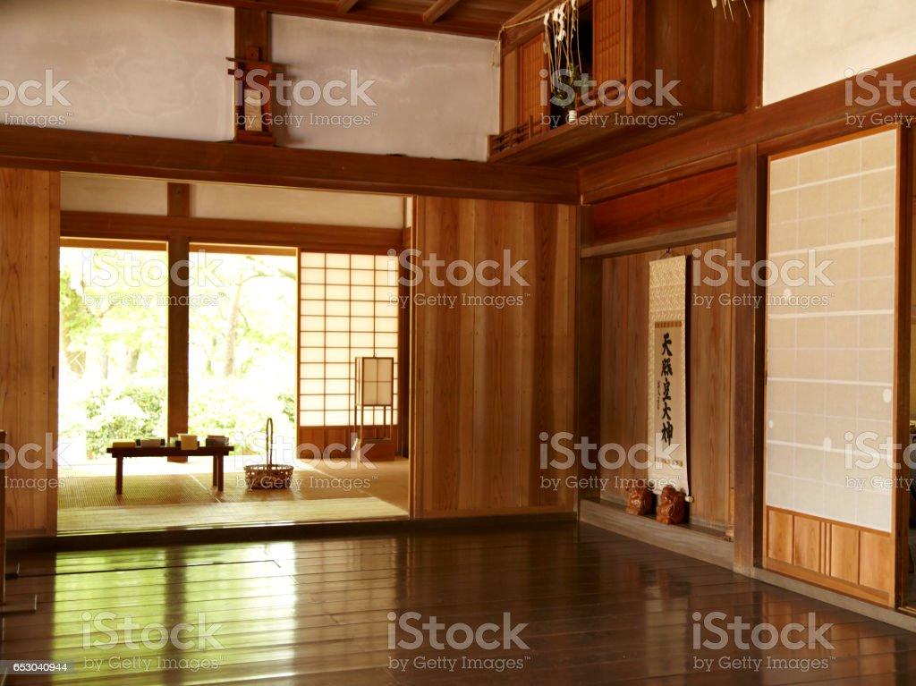 Japanhäuser Und Zimmer Im Japanischen Stil Stock-Fotografie und mehr ...