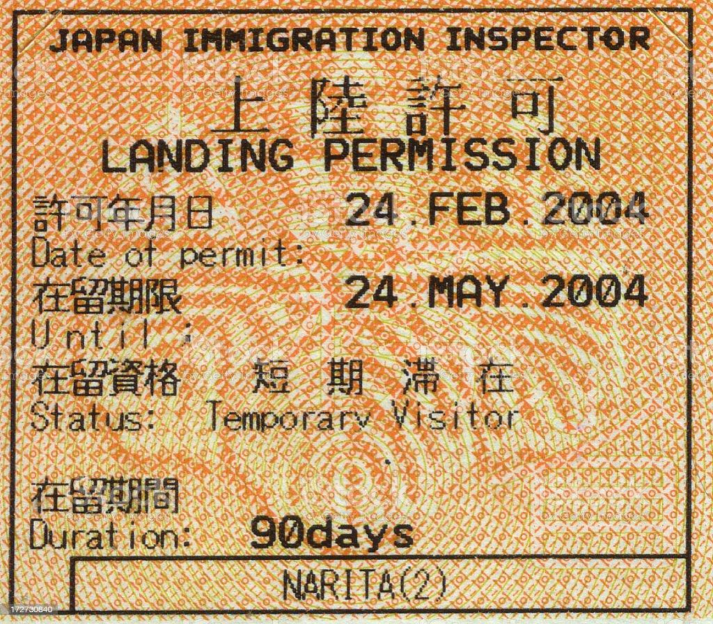 日本の移民 ストックフォト