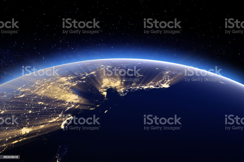 Japan, Korea, Taiwan, China. Elements of this image furnished by stock photo