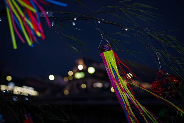 日本の夜景 - 七夕の写真 ストックフォトと画像