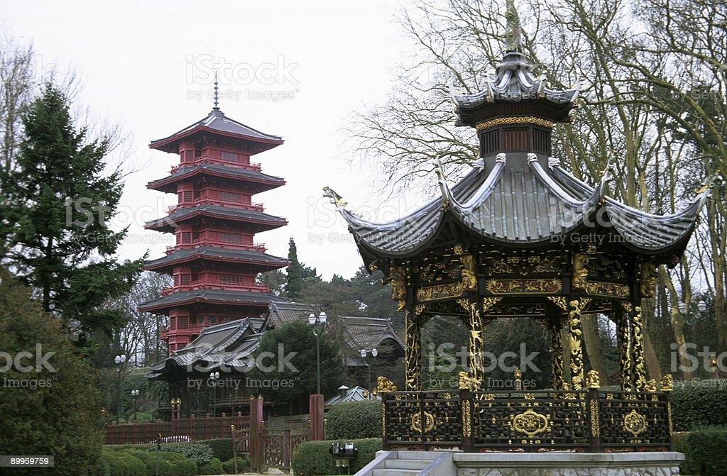 Japan meets China royalty-free stock photo
