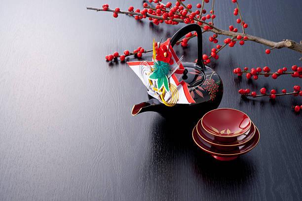 japan new year image - мидзухики стоковые фото и изображения