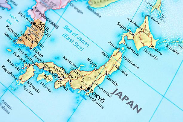 日本 - 日本 地図 ストックフォトと画像