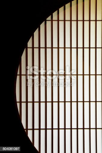 Japan round window for backgrounds.