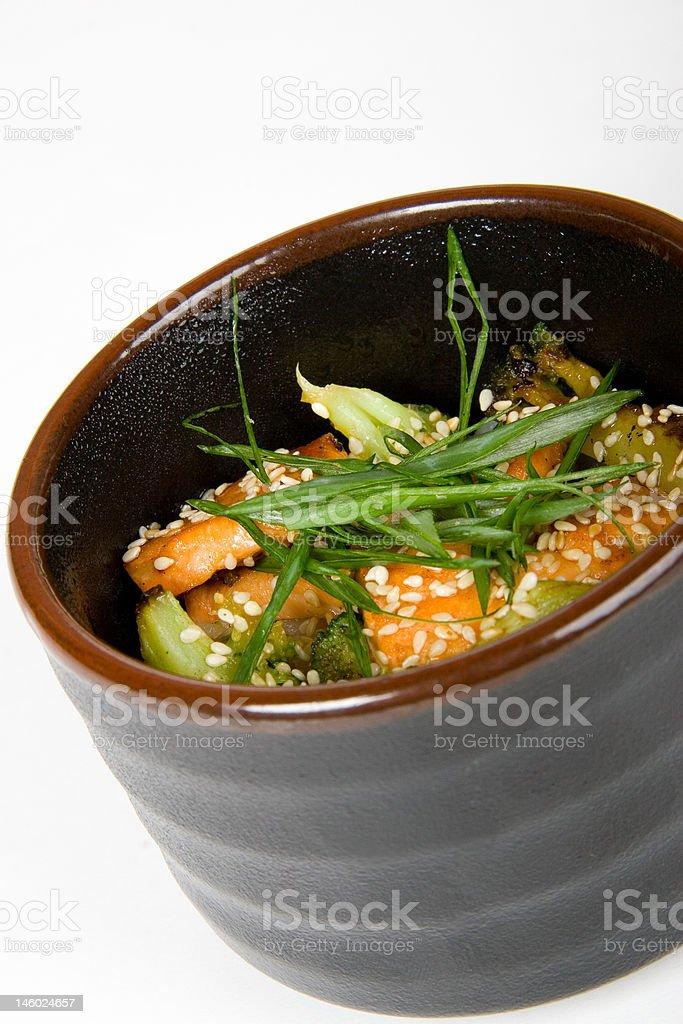 japan salad royalty-free stock photo