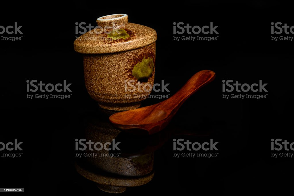 Japan tea cup stock photo