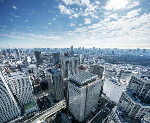 日本東京市の風景 - 東京 ストックフォトと画像