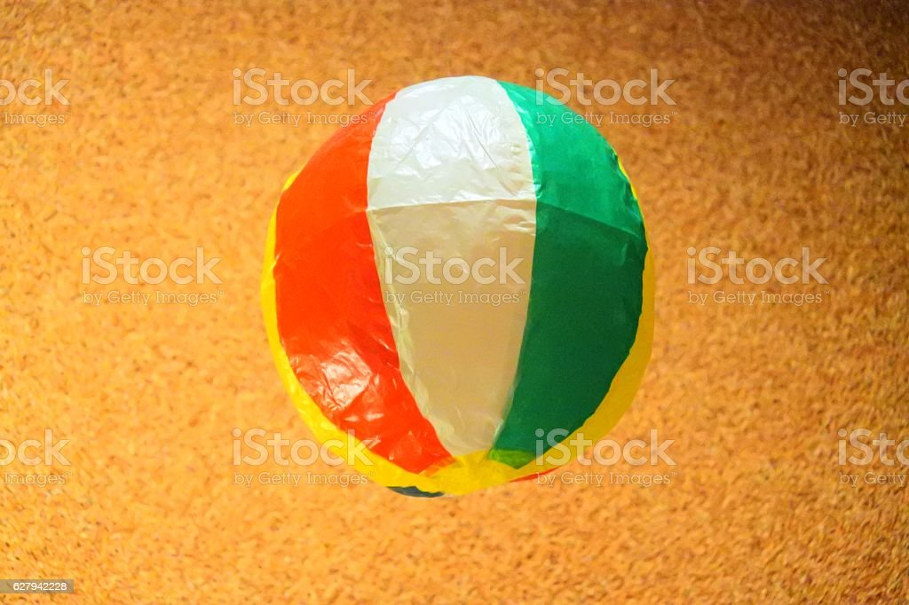 Japan traditional paper balloons stock photo