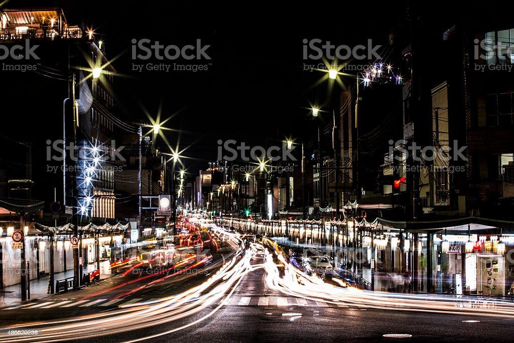 japan traffic stock photo