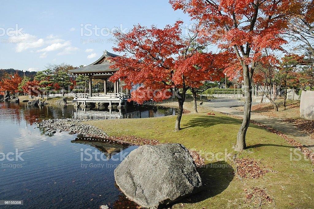 Japan Autumn royalty-free stock photo