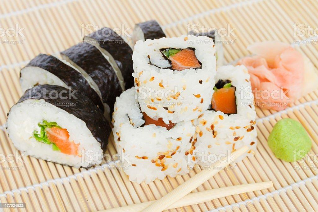 japaneese sushi stock photo