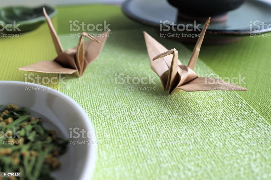 Japanese Aesthetic Sense Wabisabi And Origami Stock Photo Download Image Now Istock
