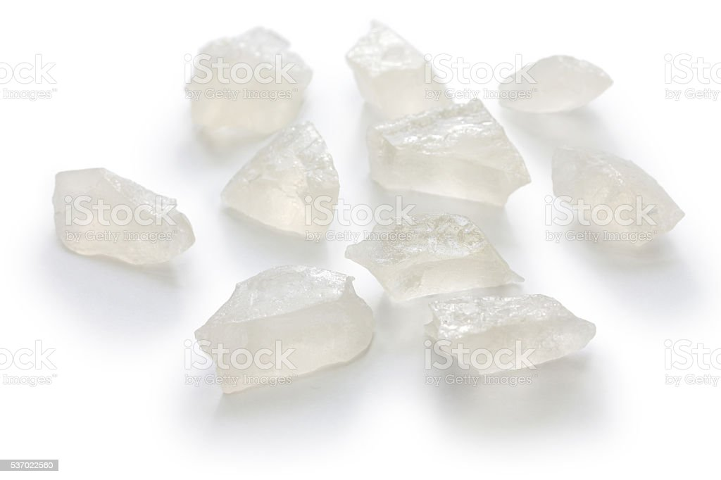 Japanese agar jelly sweet stock photo