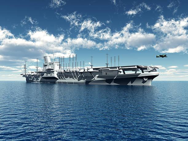 japanische aircraft carrier - flugzeugträger stock-fotos und bilder