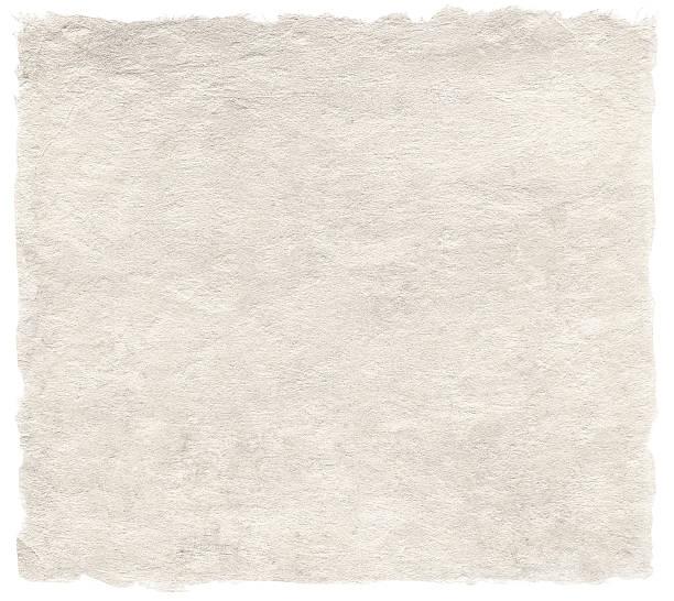 japanische künstlerische washi-papier, isoliert auf weiss - japanpapier stock-fotos und bilder