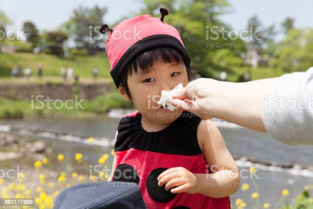 Japanese baby girl in ladybird costume blowing her nose picture id681177866?b=1&k=6&m=681177866&s=612x612&h=quzmtky6eazfapohu qon7nusc2 cjl6ij9t0ldkpfm=