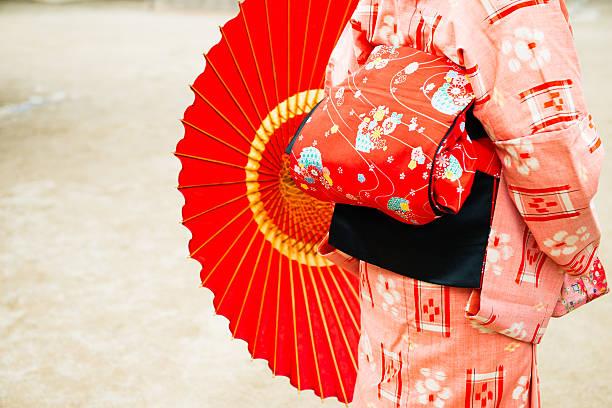 japanische schönheit - kimono stock-fotos und bilder