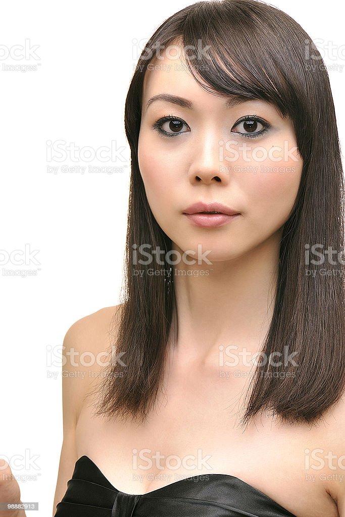 Japanese Beauty royalty free stockfoto