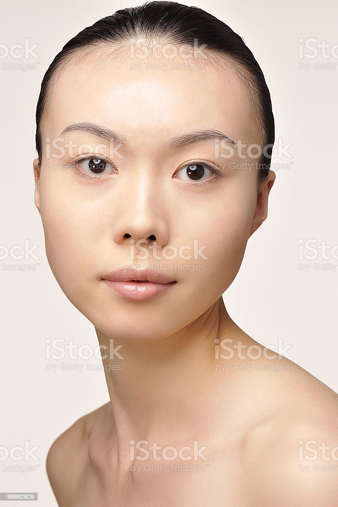 Japanese Beauty foto de stock libre de derechos