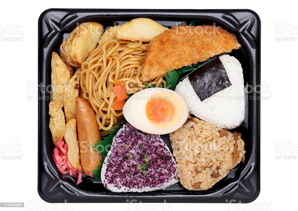 Japanese bento lunch stock photo