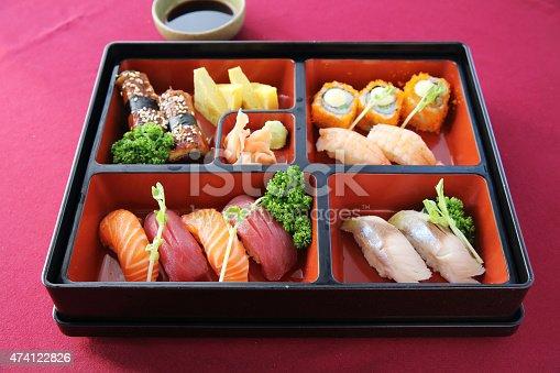 istock Japanese Bento sushi and soba 474122826