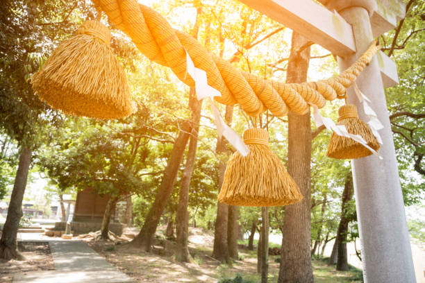 Japanese big rope in new year day named
