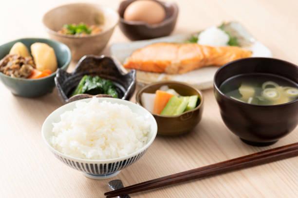和食の朝食イメージ - 日本食 ストックフォトと画像
