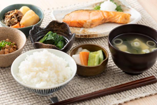 和食の朝食イメージ - 和食 ストックフォトと画像