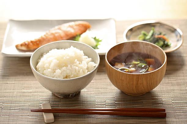 和食の朝食 - 朝食 ストックフォトと画像
