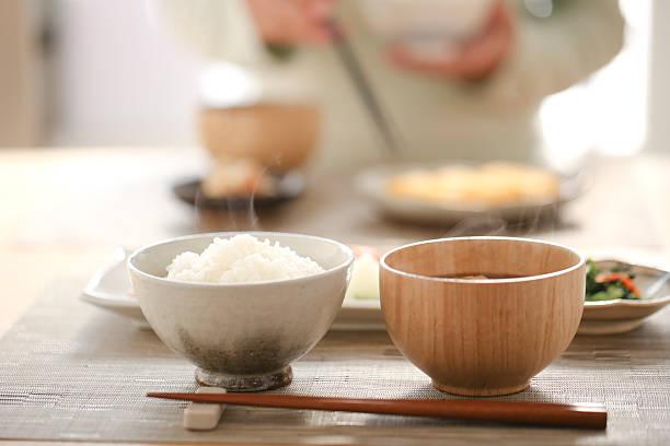 和食の朝食 - 日本食 ストックフォトと画像