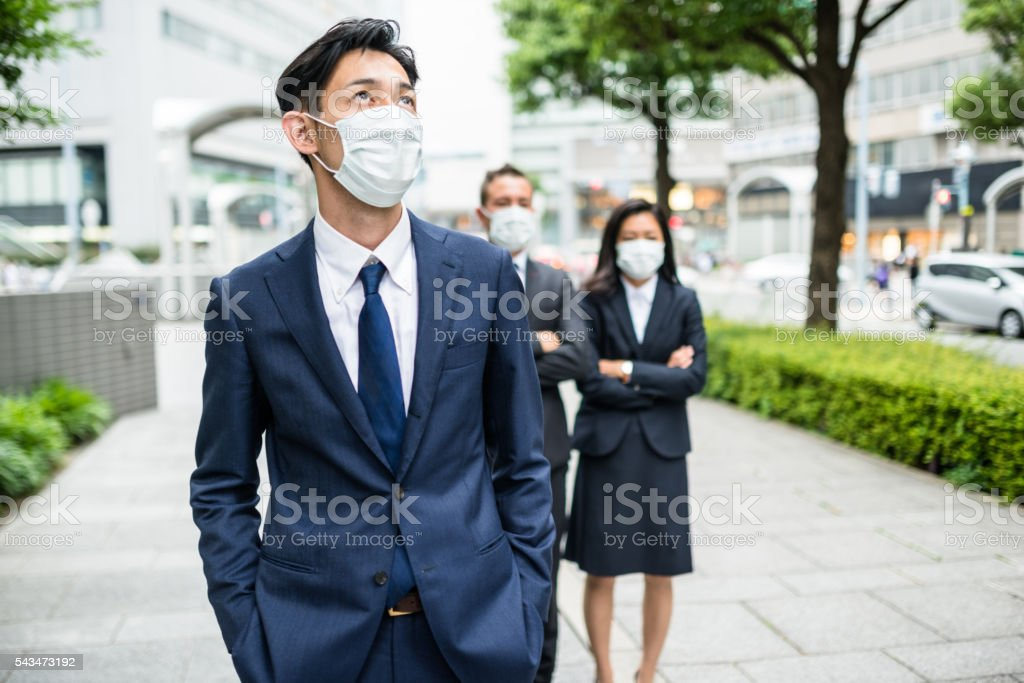 maschera antipolvere giapponese