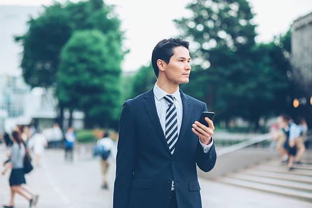日本のビジネスマン - ビジネスマン ストックフォトと画像