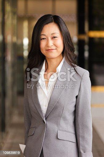 istock Japanese Businesswoman 109839819