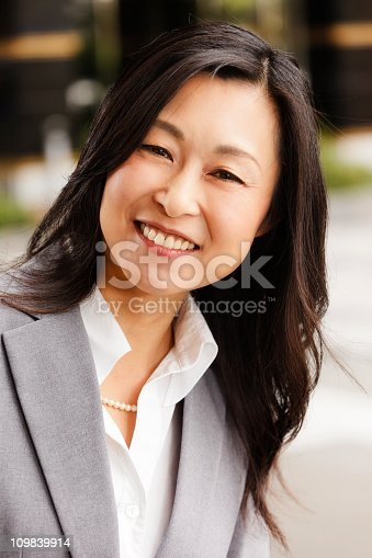 istock Japanese Businesswoman 109839914