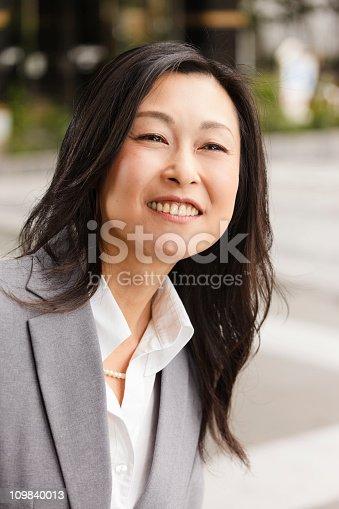 istock Japanese Businesswoman 109840013