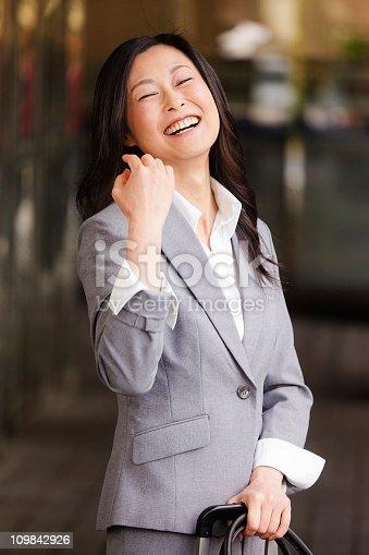 istock Japanese Businesswoman 109842926