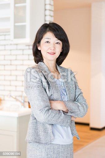 istock Japanese Businesswoman 539096154