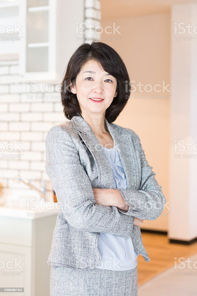 日本のビジネスウーマン ストックフォト