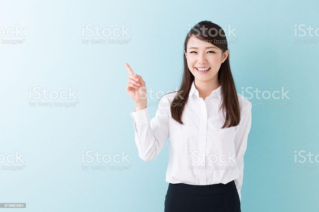Japanese businesswoman stock photo