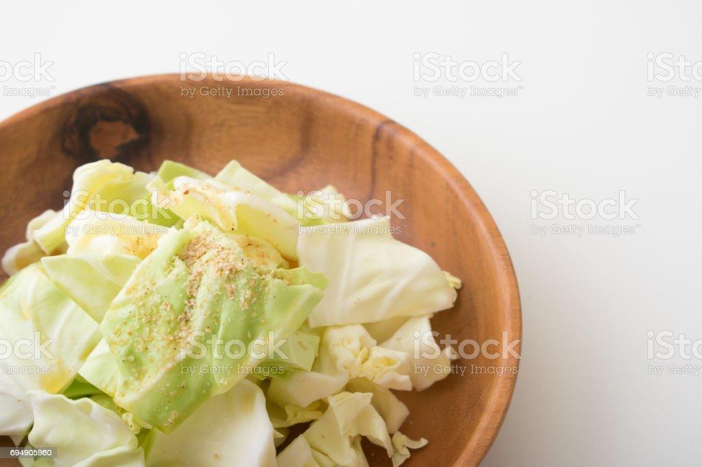 キャベツ サラダ ごま油