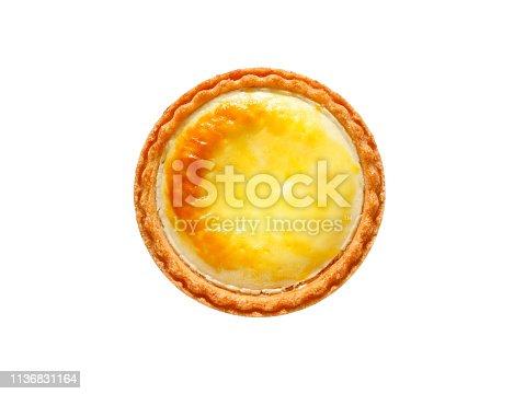 istock Japanese cheese tart 1136831164