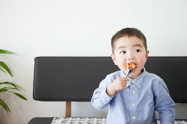 Japonés los niños - foto de stock