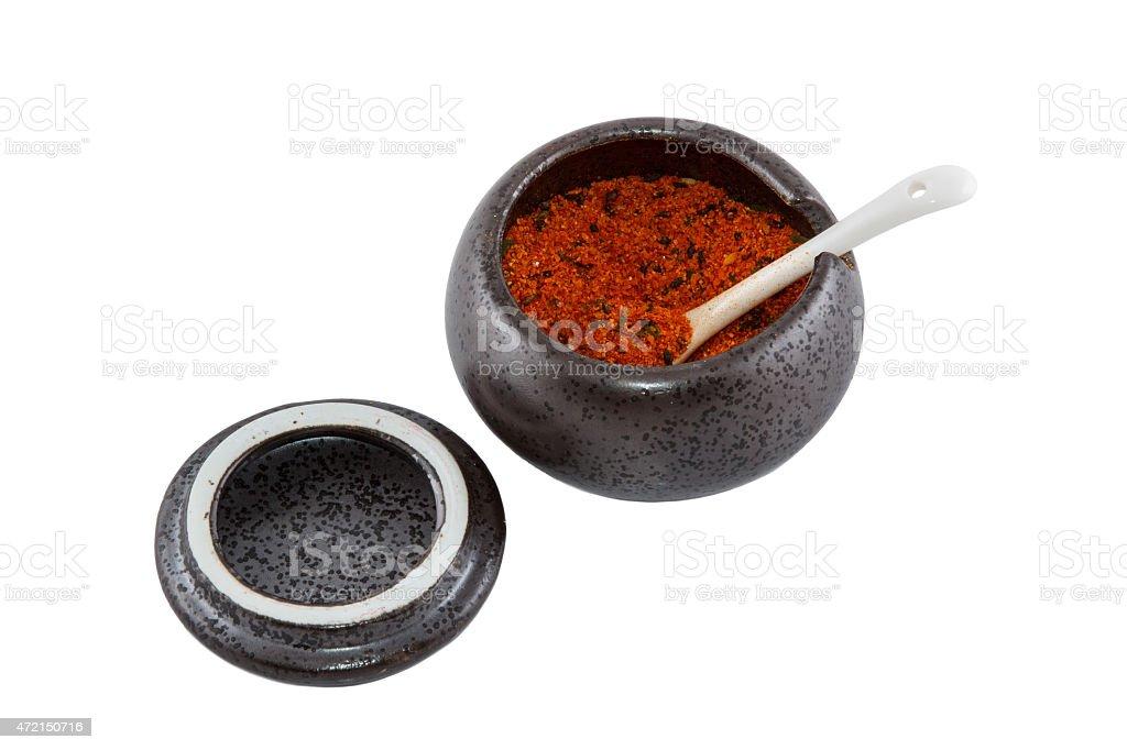 Japanese chili stock photo