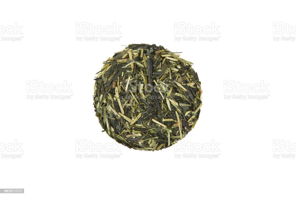 Japanese coarse tea foto stock royalty-free