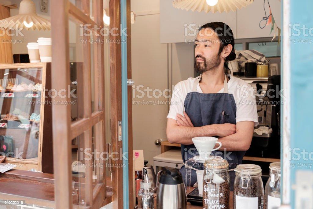 Japanese Coffee Shop stock photo