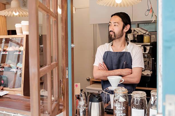 japanische café - teeladen stock-fotos und bilder