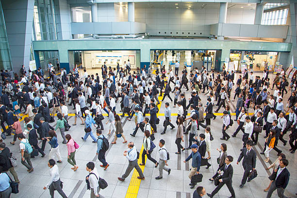 日本で結ぶ鉄道駅 - 駅 ストックフォトと画像