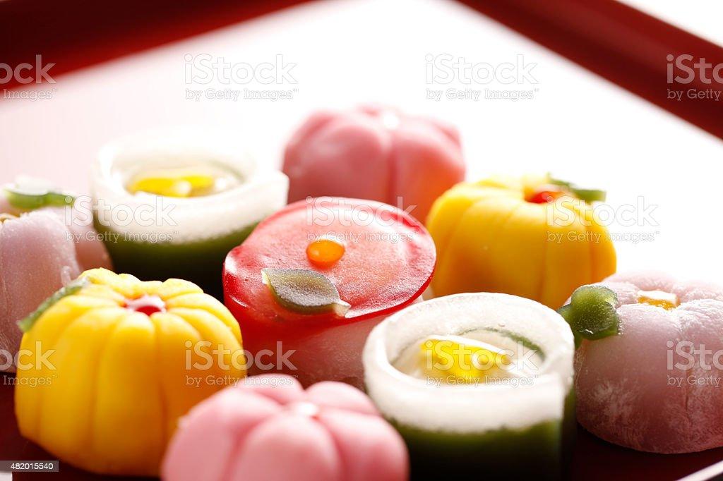 Japonês confectionery - foto de acervo