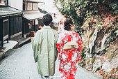 正月に日本人夫婦